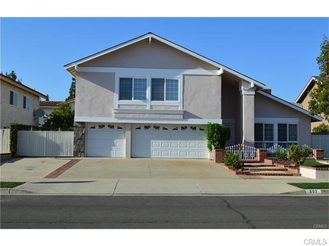 Single Family Home for Rent at 507 Dartmouth Drive Placentia, California 92870 United States
