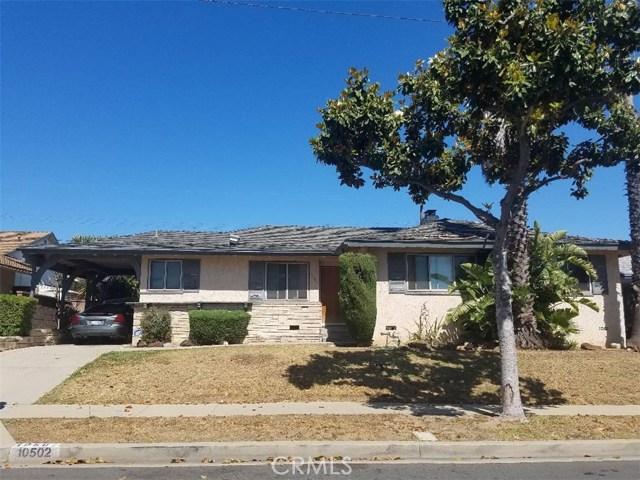 10502 S 2nd Avenue Inglewood, CA 90303 - MLS #: IG18141575