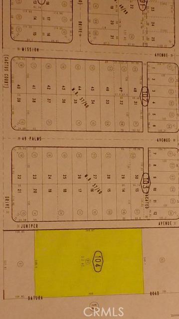 Real Estate for Sale, ListingId: 33941047, 29 Palms,CA92277