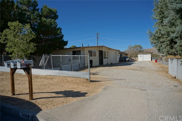 7442 Borrego Yucca Valley, CA 92284 is listed for sale as MLS Listing EV16732244