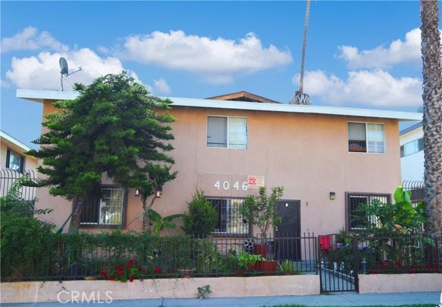 4046 Nicolet Avenue, Los Angeles, California 90008