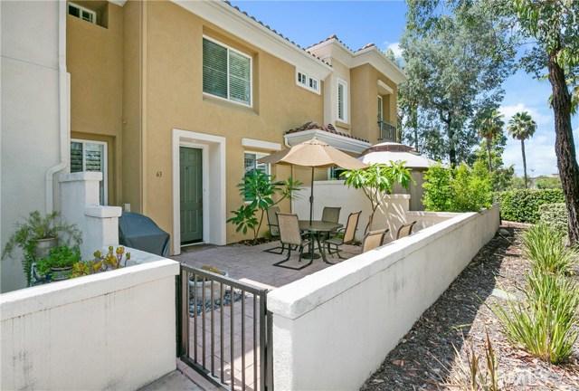 63 Via Vicini Rancho Santa Margarita, CA 92688 - MLS #: OC18216809