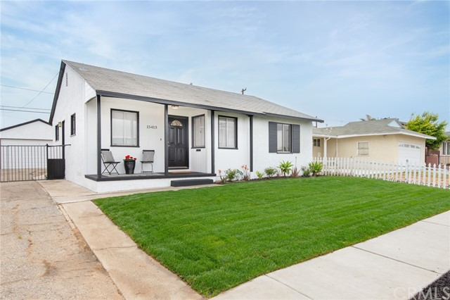 Detail Gallery Image 1 of 1 For 15413 Doty Ave, Lawndale,  CA 90260 - 3 Beds   1 Baths