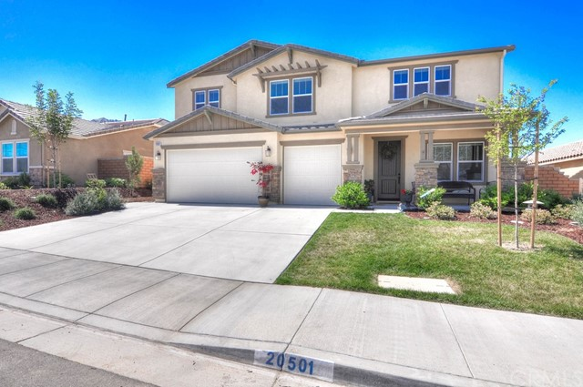 Single Family Home for Sale at 20501 Crooked Branch Street Riverside, California 92507 United States