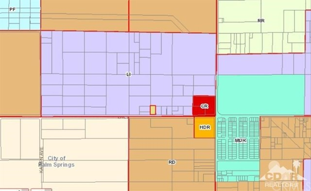 Land for Sale at West Of Indian On Dillon Rd West Of Indian On Dillon Rd Desert Hot Springs, California 92240 United States