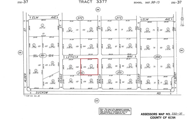Detail Gallery Image 1 of 1 For 0 232-376-01-00, Boron,  CA 93516 - – Beds | – Baths