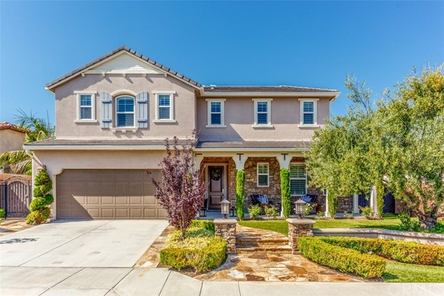 One of Golf Course Yorba Linda Homes for Sale at 20445  Milano Court