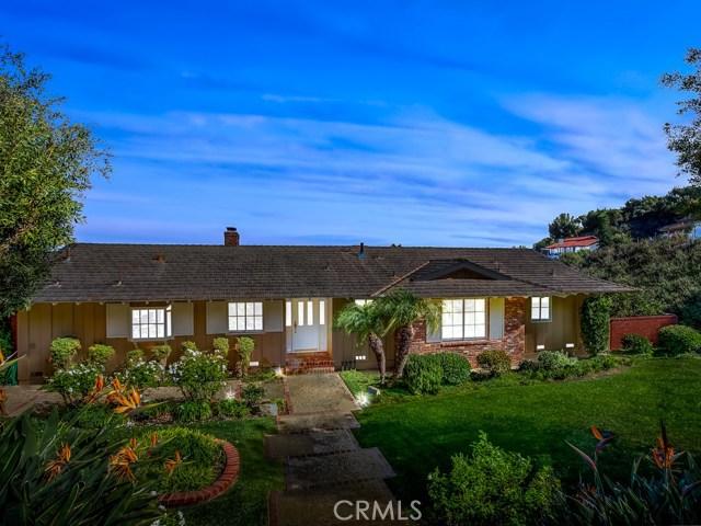 29872 Knoll View Drive, Rancho Palos Verdes CA 90275