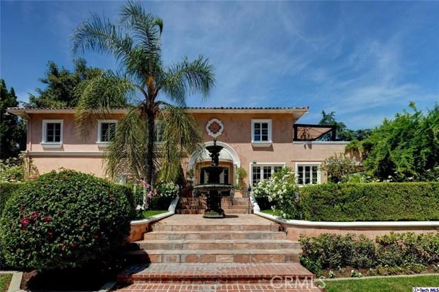 Single Family Home for Sale at 1021 Matilija Road Glendale, California 91202 United States
