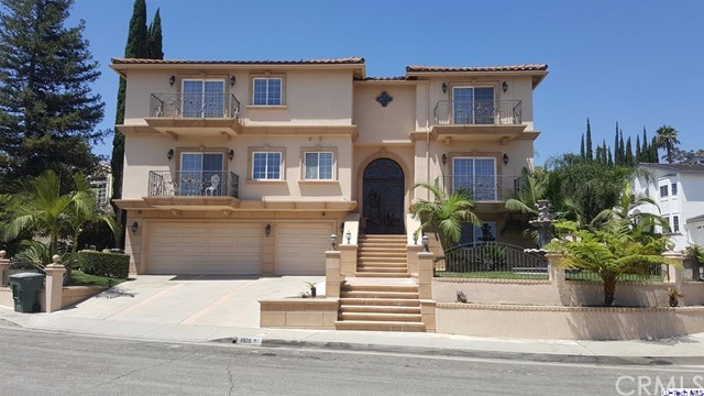 Single Family Home for Sale at 1903 Rams Horn Court 1903 Rams Horn Court Glendale, California 91207 United States