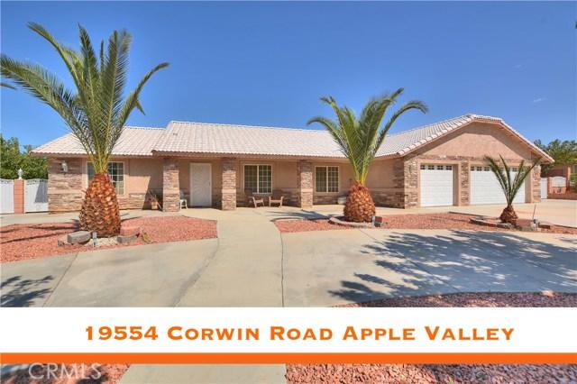 19554 Corwin Road, Apple Valley, CA, 92307