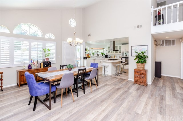 Open floor plan, brand new floors, plantation shutters, light and bright BIG spaces
