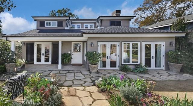 Single Family Home for Sale at 315 Magnolia Drive Laguna Beach, California 92651 United States