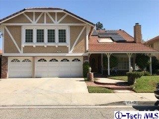 Single Family Home for Sale at 11842 Eddleston Drive 11842 Eddleston Drive Porter Ranch, California 91326 United States