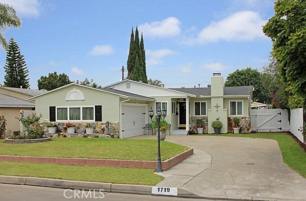1719 W Sumac Lane Anaheim, CA 92804 - MLS #: OC17129996