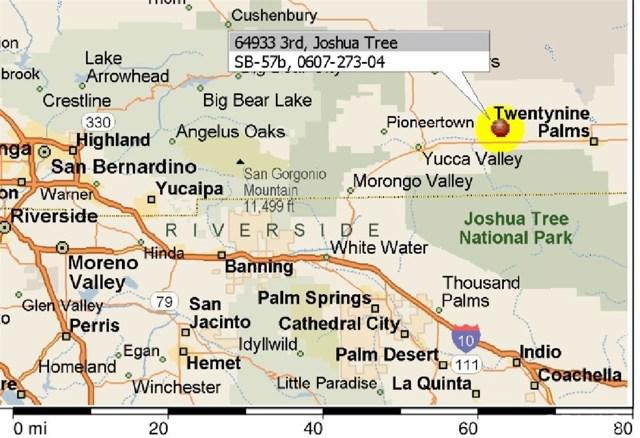 64933 S 3rd Street Joshua Tree, CA 92252 - MLS #: DW17255361