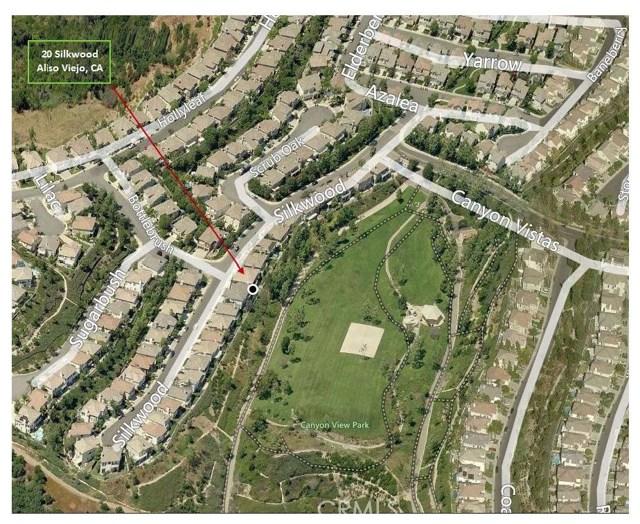 20 Silkwood Aliso Viejo, CA 92656 - MLS #: OC17144325