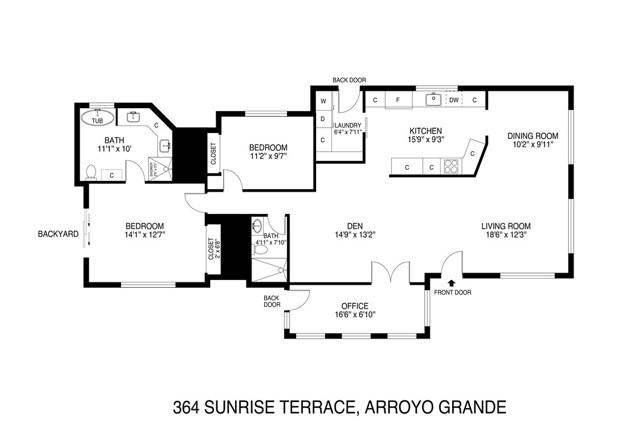 364 Sunrise, Arroyo Grande CA: http://media.crmls.org/medias/da0bba56-71ac-400f-aa5c-3088dd20dbd9.jpg