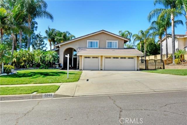 6366 Orangewood Drive Rancho Cucamonga CA 91701