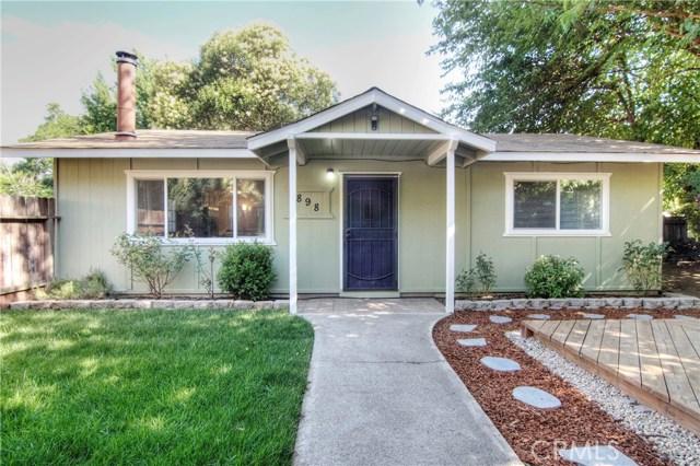 898 Colorado Street, Chico CA 95928