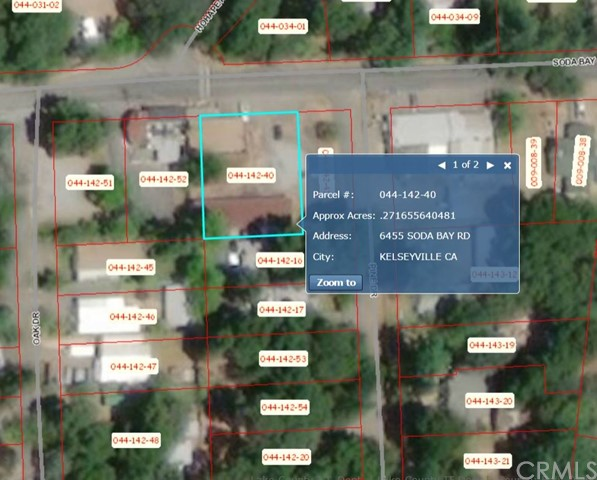 6455 Soda Bay Road Kelseyville, CA 95451 - MLS #: LC18169526