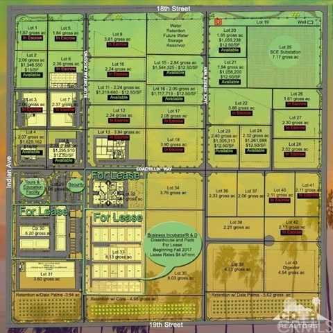 Land for Sale at Indian Avenue Indian Avenue Desert Hot Springs, California 92240 United States