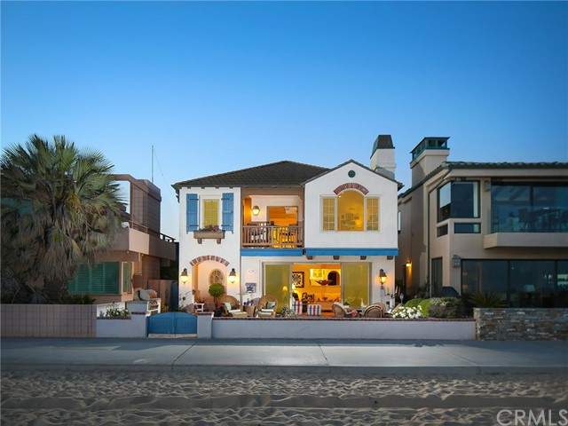 Single Family Home for Sale at 1228 Oceanfront W Newport Beach, California 92661 United States