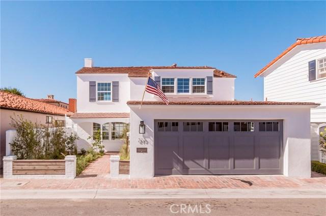 213 Via Mentone Newport Beach, CA 92663 - MLS #: NP17244661