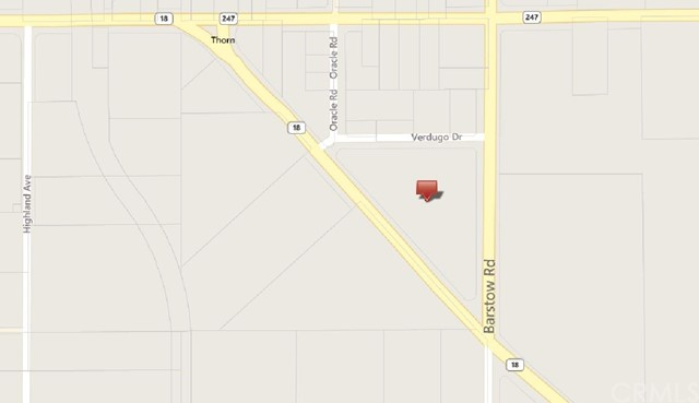 Single Family for Sale at 0 Highway 18/Barstow Rd. Lucerne Valley, California 92356 United States