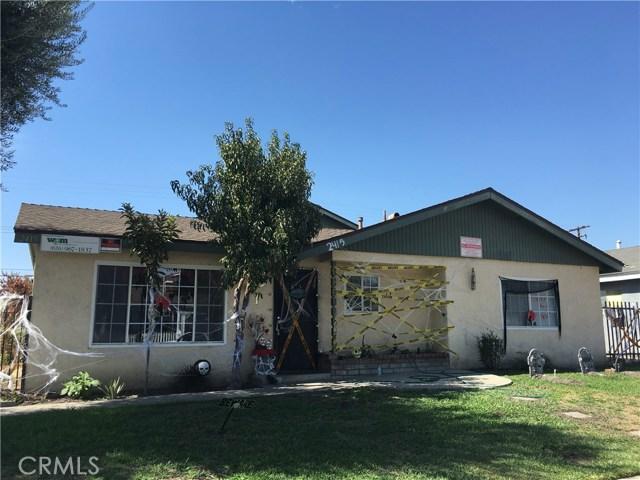 Single Family for Sale at 2415 Chanslor Street Pomona, California 91766 United States