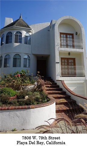 7806 W 79th Street  Playa del Rey CA 90293