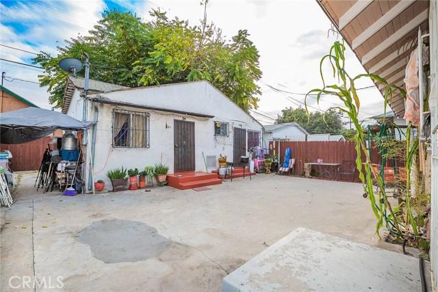 124 W 48th Street Los Angeles, CA 90037 - MLS #: CV18240037
