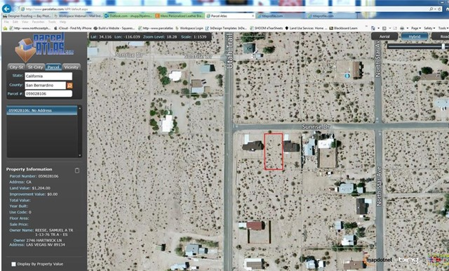 74545 Sunrise, 29 Palms, CA, 92277