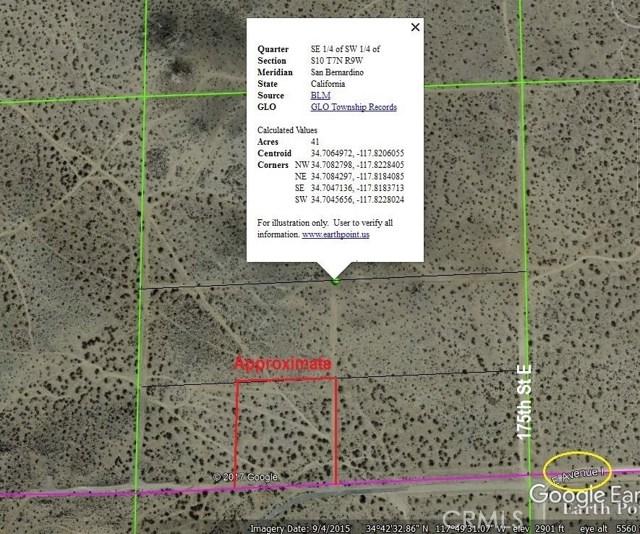 17500 Ave I Lancaster, CA 93535 - MLS #: DW17251774
