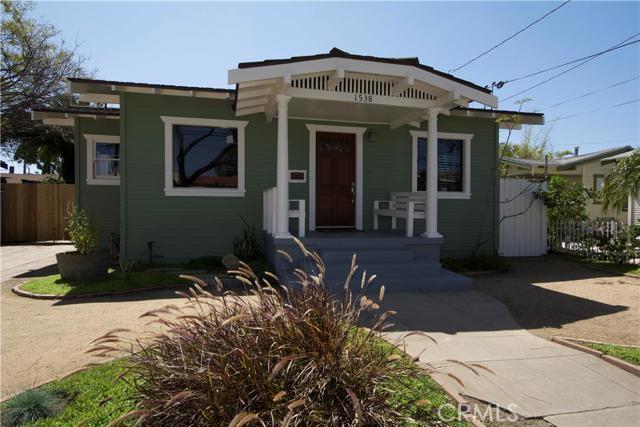 1538 East Hellman Street Long Beach CA  90813