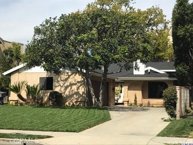 Single Family Home for Sale at 629 Lomita Avenue E Glendale, California 91205 United States