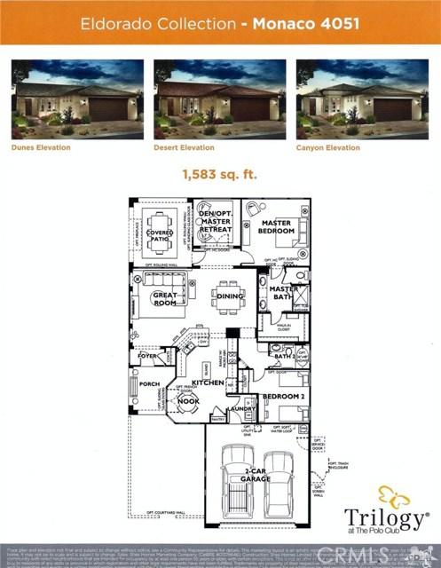 82879 Kingsboro Lane Indio, CA 92201 - MLS #: 218014008DA