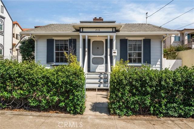 216 Beryl Street, Redondo Beach CA 90277