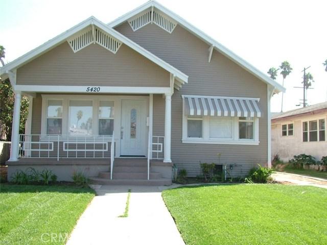 5420 Wilton Place Los Angeles CA 90062
