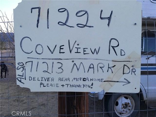 71000 Miles Rd Road 29 Palms, CA 92277 - MLS #: OC17277203
