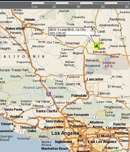 8631 S Loop Blvd California City, CA 93505 - MLS #: DW17134543