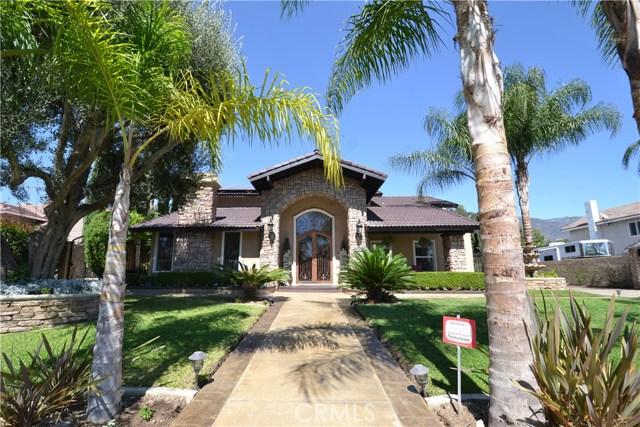 Casa Unifamiliar por un Venta en 8272 Sunflower Avenue Alta Loma, California 91701 Estados Unidos