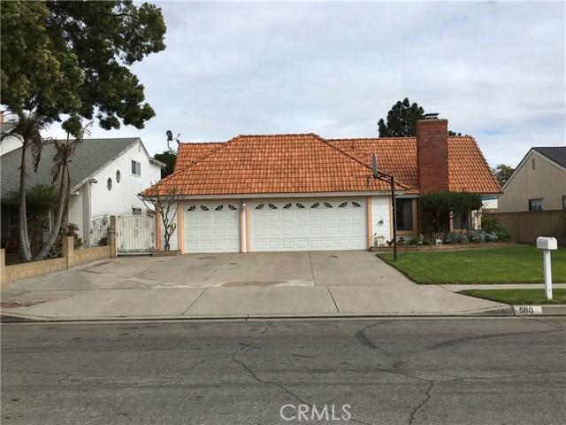 580 S Gilmar Street Anaheim, CA 92802 - MLS #: PW18050847
