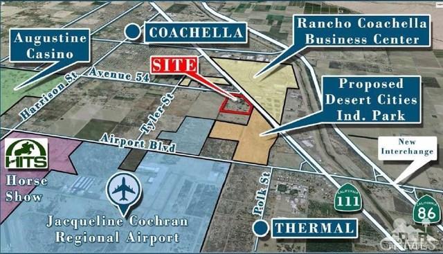 土地 为 销售 在 Avenue 54 Coachella, 加利福尼亚州 92236 美国