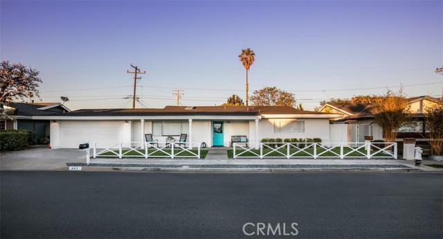 Single Family Home for Sale at 442 Cambridge St Costa Mesa, California 92627 United States