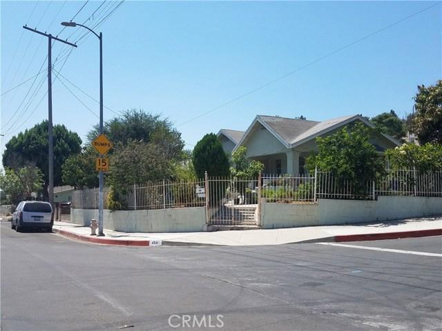 4341 Van Horne Avenue El Sereno, CA 90032 - MLS #: DW18196749
