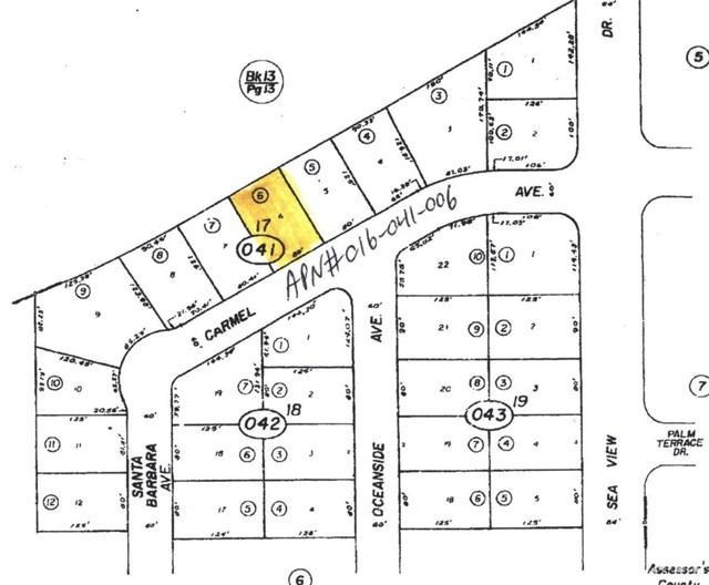 842 Carmel Avenue Salton City, CA 92275 - MLS #: 218013376DA