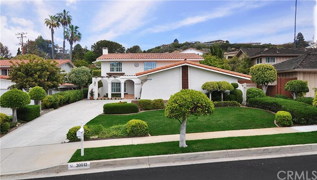 30012 Via Rivera Rancho Palos Verdes, CA 90275 is listed for sale as MLS Listing PV16104389