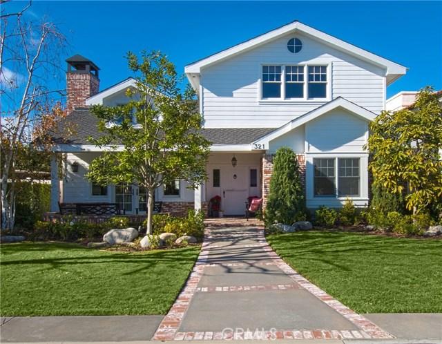 321 Aliso Avenue, Newport Beach, CA 92663