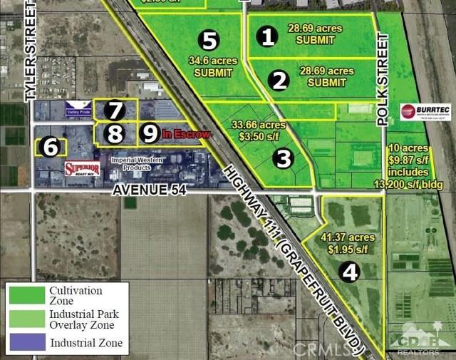 Land for Sale at S Avenue 54 Coachella, California 92236 United States